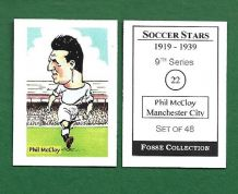 Manchester City Phil McCloy 22 (FC)